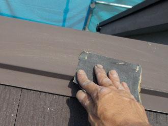 川崎市 屋根塗装 板金ケレン