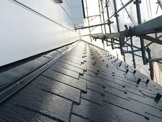 横浜市緑区 外壁塗装工事 子屋根塗装後