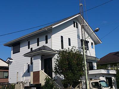 横浜市緑区 屋根カバー工事 外壁塗装工事 施工後