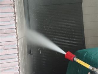 ガレージ内も綺麗に洗浄いたします