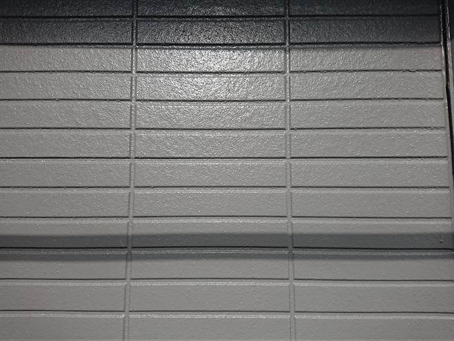 中塗り塗装乾燥後、撮影。艶もあり落ち着きもありの良い仕上がりになってきています。