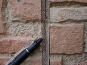 コーキングが切れていたり外壁から剥離している時はメンテナンスが必要