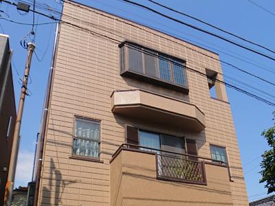 川崎市幸区塚越にて築19年になるALC外壁のお住まい、パーフェクトトップによる塗装工事を行いました、施工後写真