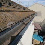 梯子を架けて屋根に上がる前に分かる軒先の傷み