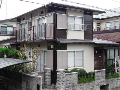 横浜市瀬谷区 外壁塗装 屋根カバー工法 施工後