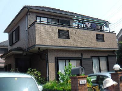 横浜市戸塚区 外壁塗装 施工前