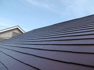 厚木市 屋根塗装 塗装後の屋根