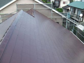 厚木市 屋根塗装工事後