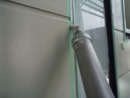 横浜市緑区 外壁塗装工事 コーキング打ち増し