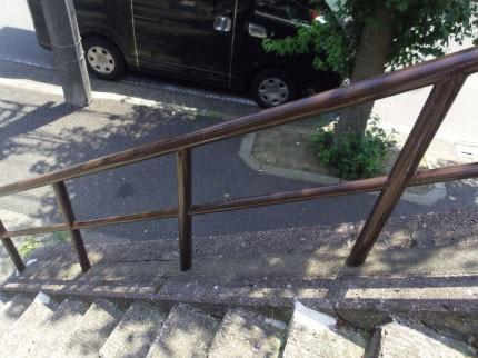 横浜市青葉区 塗装工事 手すり塗装