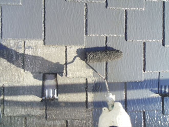 横浜市緑区 外壁塗装工事 子屋根塗装