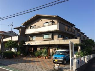 大和市にてマンションの雨漏り調査