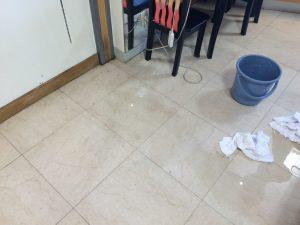外壁散水試験④