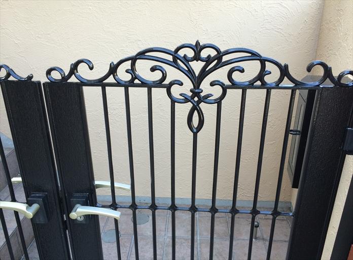 門扉 塗り替え3