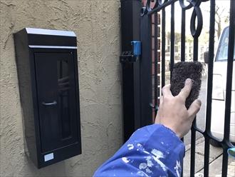 門扉 塗り替え1