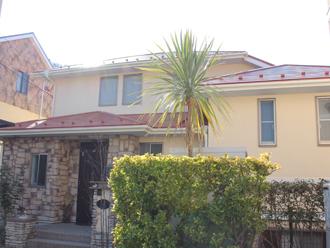 三浦郡葉山町|洋風なお住まいを外壁塗装と屋根塗装でリフォーム、施工後写真