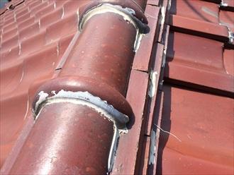 座間市で瓦屋根の点検