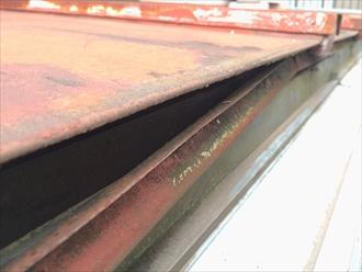 横浜市緑区で屋根を調査、下地が傷んでるなら塗装ではなく葺き替えです