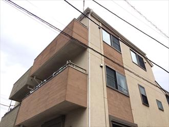 以前とは違った色合いをパーフェクトトップで実現|横浜市栄区、施工前写真