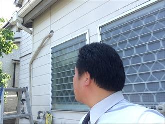 横浜市栄区コーキングの劣化はサイディングの傷みを誘発