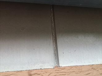横浜市戸塚区原宿で外壁の点検、幕板やコーキングに傷みが出ておりました