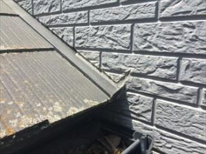 屋根外壁取合い①