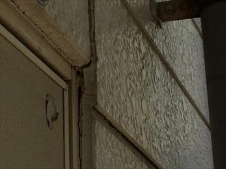 港南区にて外壁点検