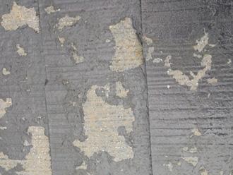 川崎市宮前区|下地処理の甘い屋根の塗膜剥がれ