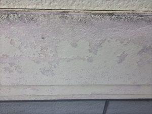 幕板の表面が剥がれている