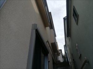 モルタル仕上げの外壁面