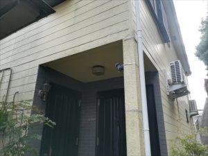 コーキング補修をされた外壁・柱