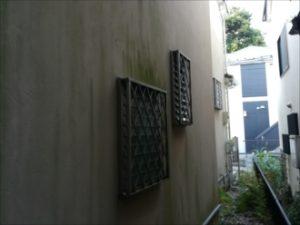 外壁塗膜の劣化状況