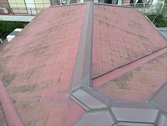 塗装前屋根の様子