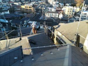 屋根の勾配確認