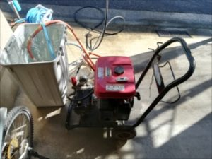 高圧洗浄機