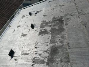 屋根材塗膜の劣化