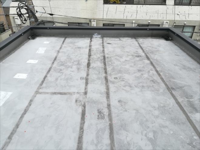 川崎市幸区|陸屋根屋上防水からの雨漏り調査