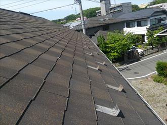 屋根材の状況