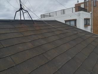 屋根スレートの色褪せ・変色