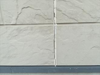 外壁目地コーキングの劣化