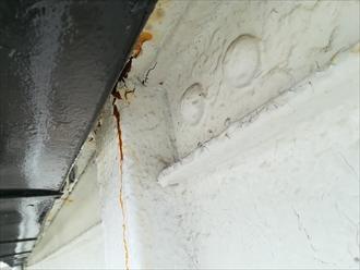 横浜市港南区|アパート鉄骨部分からの錆・点検調査、対処法
