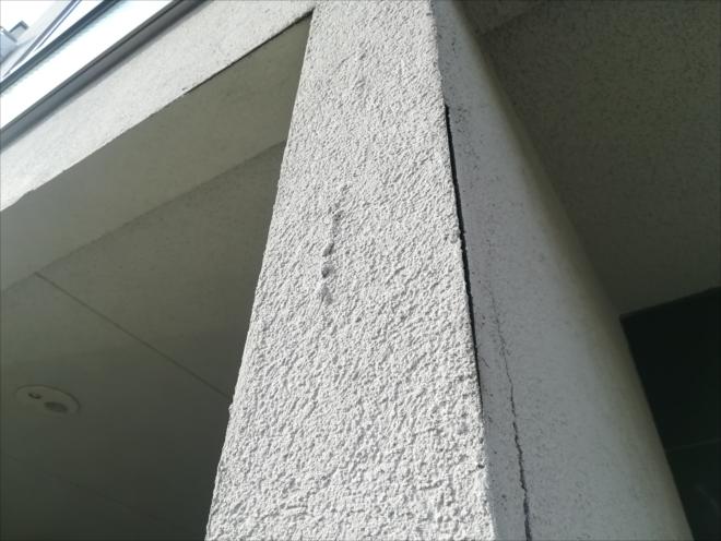 横浜市戸塚区|外壁のひび割れは早めの処置が必要です