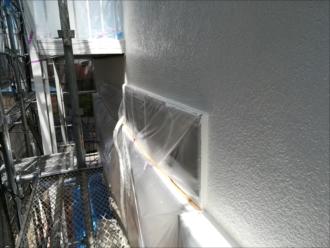 外壁「白」塗装