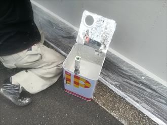 横浜市神奈川区の擁壁塗装は、インターナショナルペイント・IPヨウヘキコートを使用しました