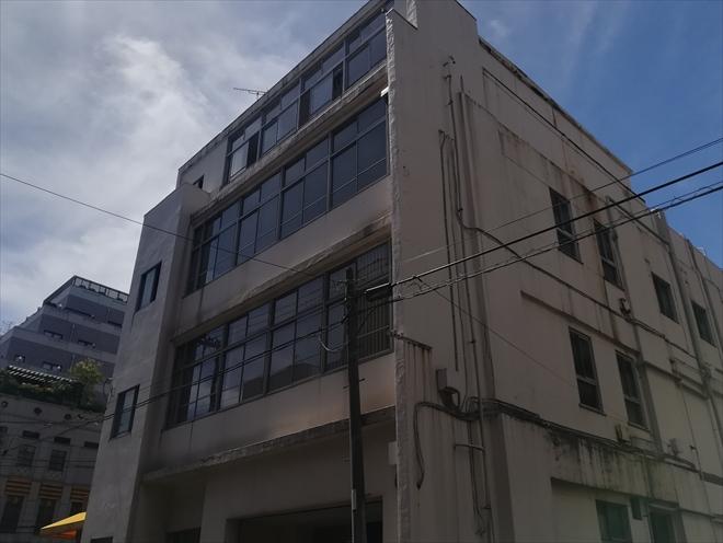 横浜市中区の一角にあるビル