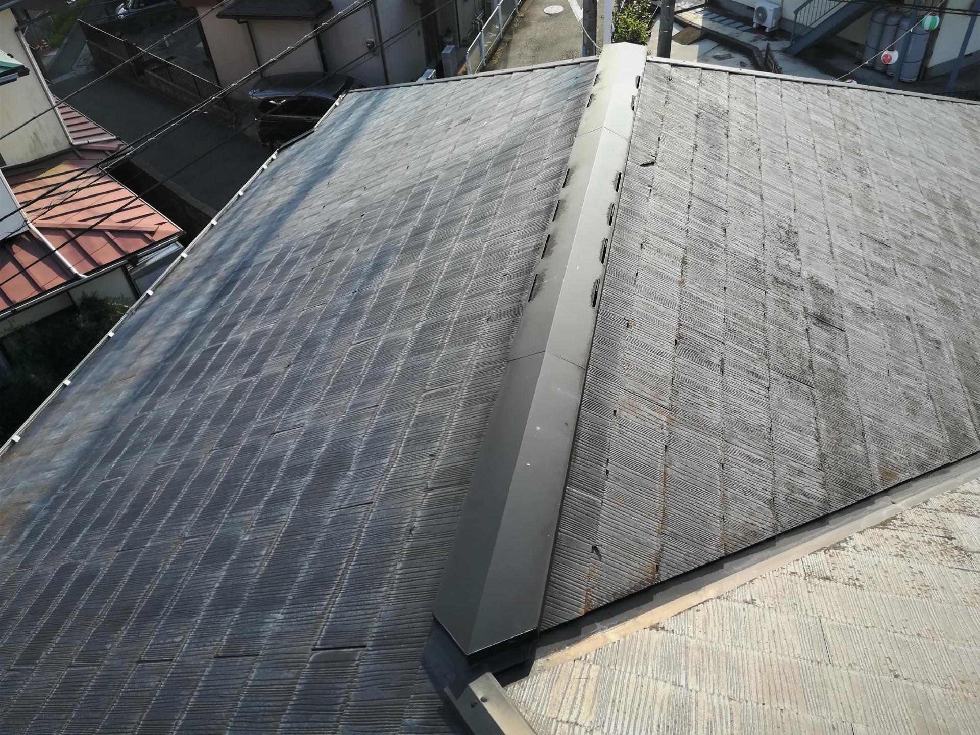 横須賀市平作にて外壁塗装はパーフェクトトップ、屋根塗装はファインパーフェクトベストで20年間ノーメンテナンスのお住いを蘇らせます、施工前写真