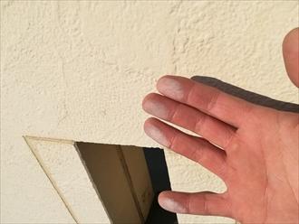 横須賀市岩戸にて築12年目で屋根・外壁塗装を検討中、そのための点検調査