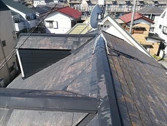 T様宅屋根の様子