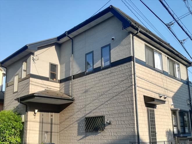 横浜市青葉区大場町にて外壁塗装時は付帯部分の塗装もあわせて行います