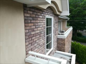 横浜市都筑区荏田南にて外壁の石タイルのメンテナンスには浸透性吸水防止材